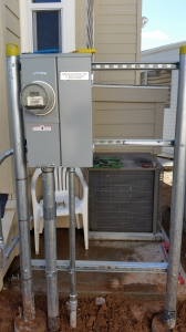 """Solar 40 inch100 Amp """"H"""" Frame Meter Socket / Panel Meets SPR and APS Current Specifications"""