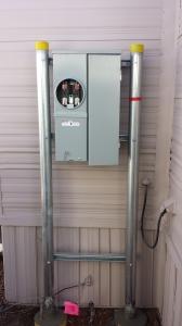 """Standard 100 Amp """"H"""" Frame Meter Socket / Panel Meets SPR Specifications"""